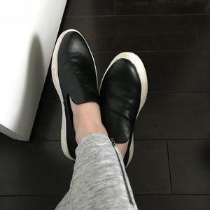 b630ed87b30 Steven By Steve Madden Shoes - Steven by Steve Madden Arden Sneaker black  leather